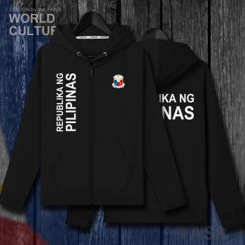 Filipinai filipinų medis PH, PHL PHI top mens fleeces hoodies žiemos cardigan megztiniai vyrams švarkai ir paltai tracksuit užtrauktukas drabužiai